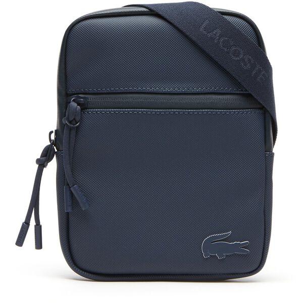 MEN'S L.12.12 CONCEPT SMALL FLAT CROSSOVER BAG