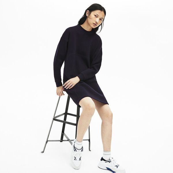 Women's Lacoste Motion Sweatshirt Dress