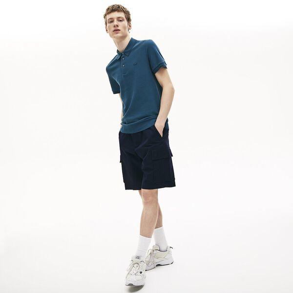Men's Lacoste Cotton-Silk Piqué Polo Shirt