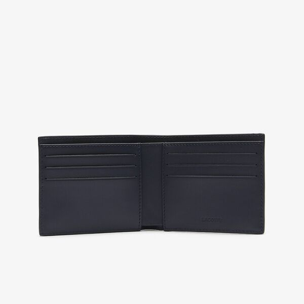 Men's Fitzgerald Leather Six Card Wallet, MARINE 166, hi-res