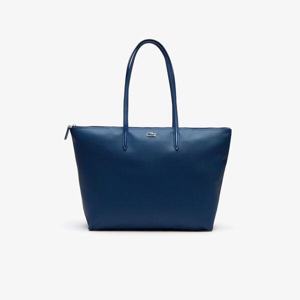 Women's L.12.12 Large Shopping Bag, POSEIDON, hi-res
