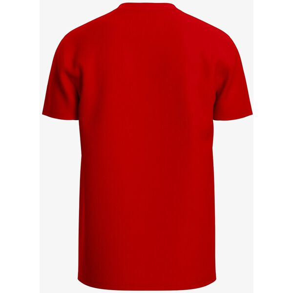 MEN'S BASIC CREW NECK PIMA TEE, RED, hi-res