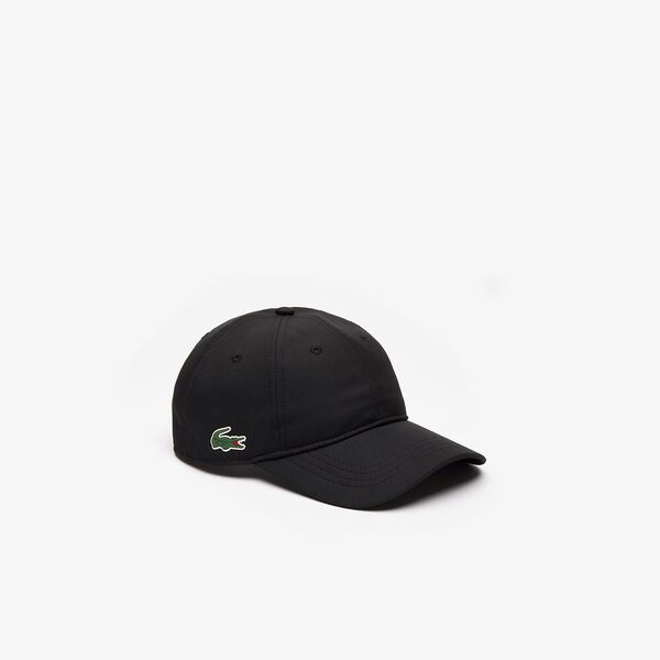 MEN'S BASIC DRY FIT CAP, BLACK, hi-res