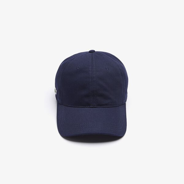 Contrast Strap Cotton Cap, MARINE, hi-res