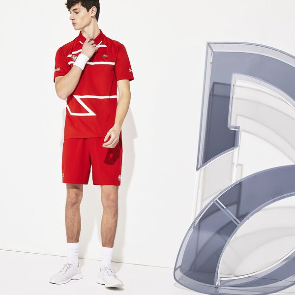 Men's SPORT Roland Garros Two-Tone Piqué Visor
