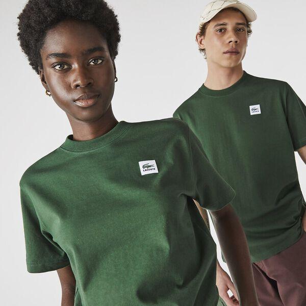 Unisex LIVE Patch Cotton T-shirt