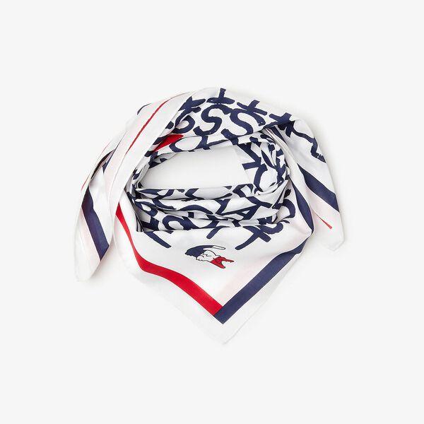 Men's SPORT French Sporting Spirit Print Bandana, WHITE/NAVY BLUE-RED, hi-res
