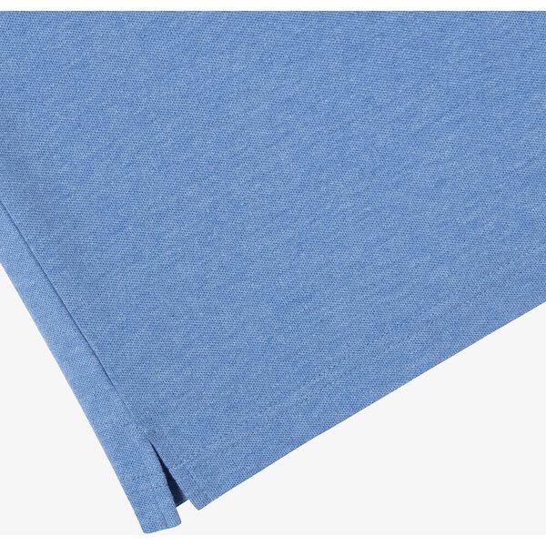 Men's Cotton Piqué Slim Fit Polo, IPOMEE CHINE, hi-res