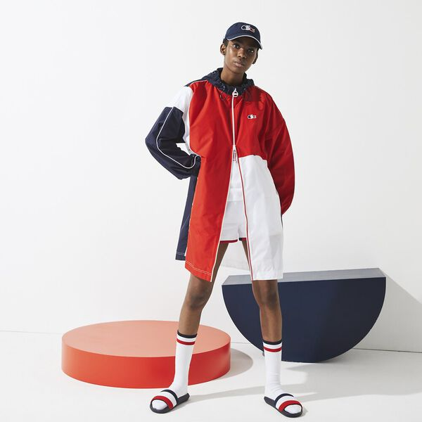 Women's SPORT French Sporting Spirit Oversized Raincoat