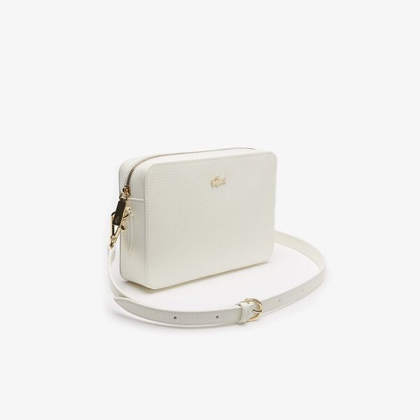 WOMEN'S CHANTACO SQUARE CROSSOVER BAG, MARSHMALLOW, hi-res