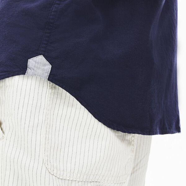 Men's Regular Fit Oxford Cotton Shirt, MARINE/MARINE, hi-res