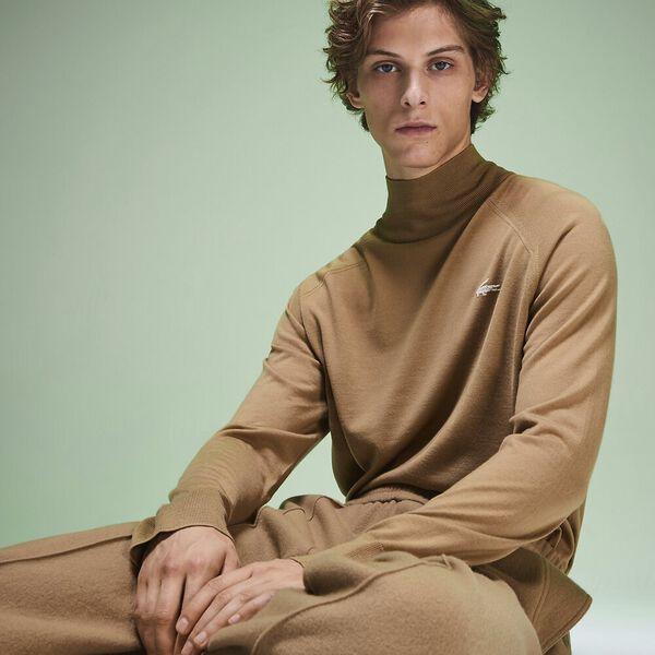 Unisex Fashion Show Iconics Polo Neck Knit, LYCET/FLOUR, hi-res