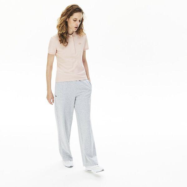 Women's Stretch Cotton Piqué Polo Shirt, NIDUS, hi-res