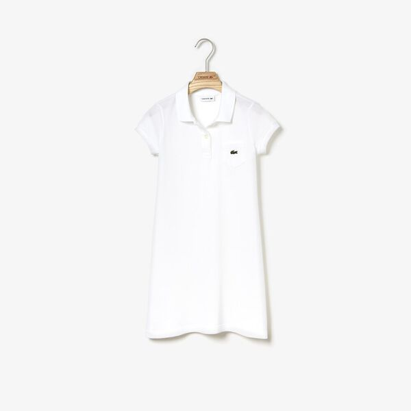 GIRLS POLO DRESS W POCKET, , hi-res
