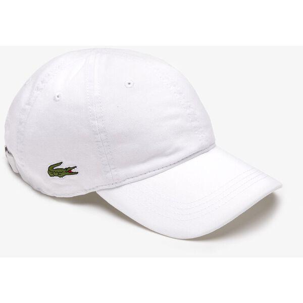 MEN'S BASIC SIDE CROC CAP, WHITE, hi-res