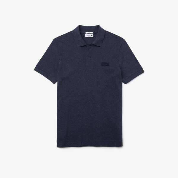 Men's Loop Polo, HEATHER BLUE, hi-res