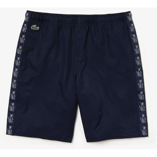 Men's Side Taping Tennis Short, NAVY BLUE/NAVY, hi-res