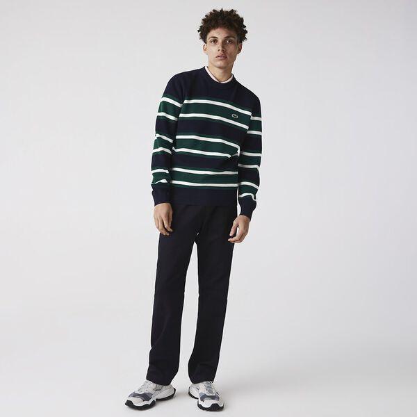 Men's Heritage Crew Neck Striped Sweater