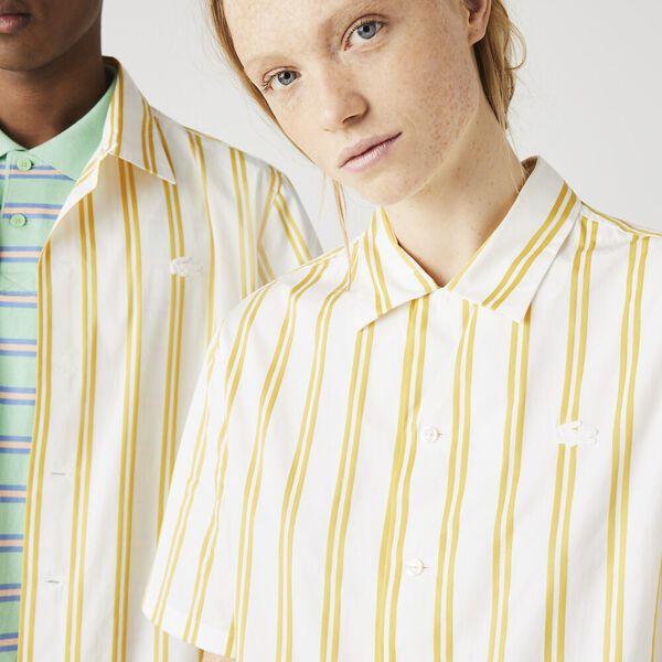 Unisex LIVE Striped Satiny Shirt