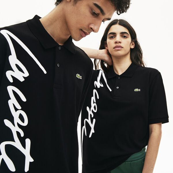 UNISEX L!IVE SIGNATURE LOOSE FIT POLO