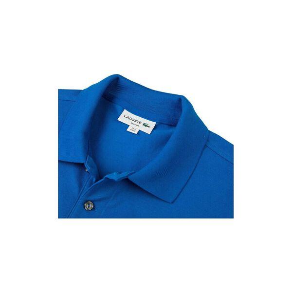 Men's Cotton Piqué Slim Fit Polo, UTRAMARINE, hi-res