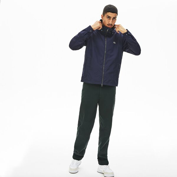 Men's Classic Windbreaker Jacket, NAVY BLUE/DARK NAVY BLUE, hi-res