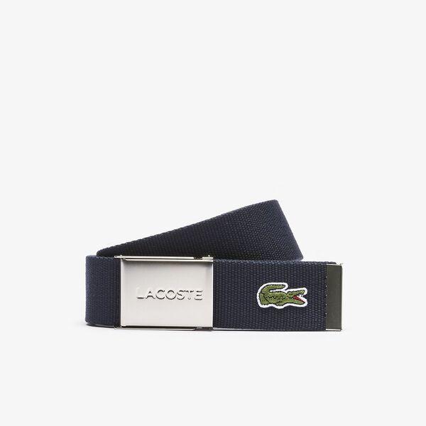 Men's L.12.12 Concept 40mm Belt, NAVY BLUE, hi-res