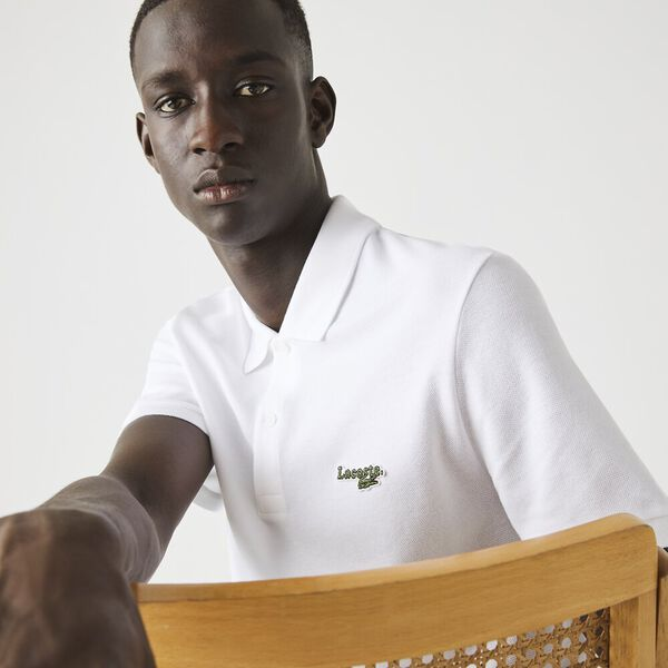 Men's Regular Fit Polo With Badge