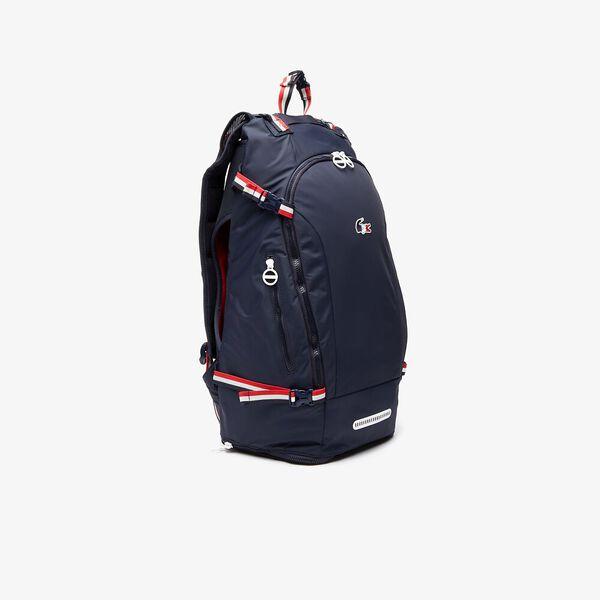 Men's SPORT French Sporting Spirit Large Nylon Backpack, NAVY, hi-res