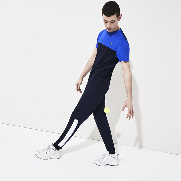 Men's Lacoste SPORT Run-Resistant Piqué Trackpants