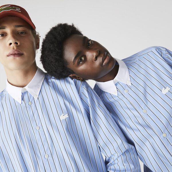 Unisex LIVE Striped Cotton Shirt