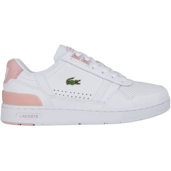 Women's T-Clip Leather and Synthetic Sneakers