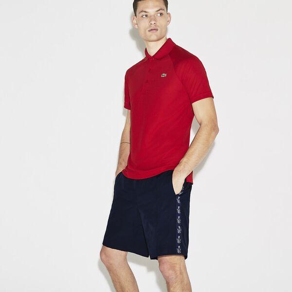 Men's Side Taping Tennis Short, NAVY BLUE/NAVY, hi-res