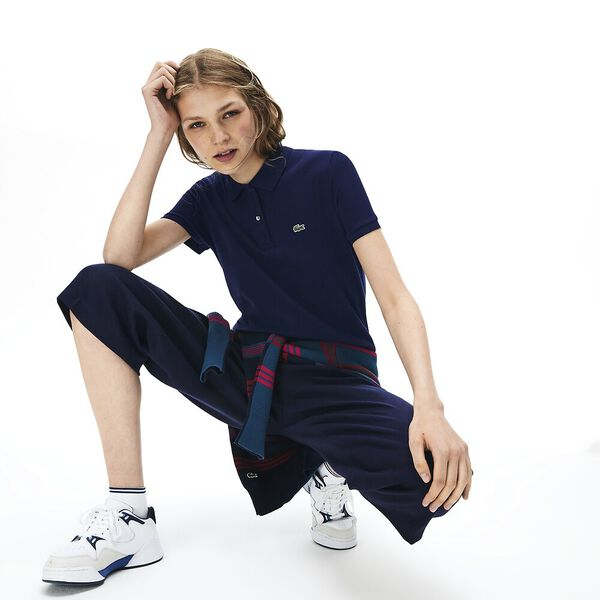Women's 2 Button Relaxed Fit Polo