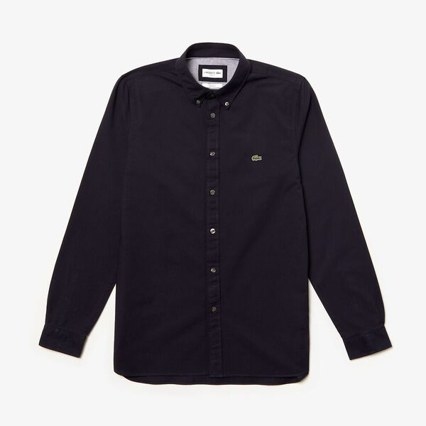 MEN'S SLIM STRETCH OXFORD