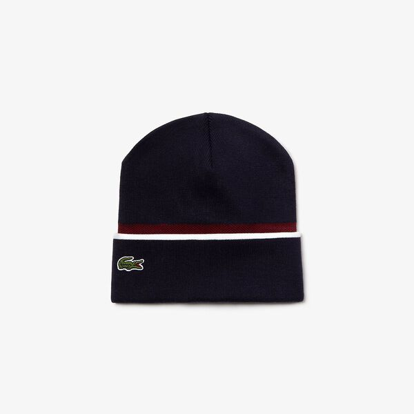 Unisex Made In France Jacquard Pique Beanie