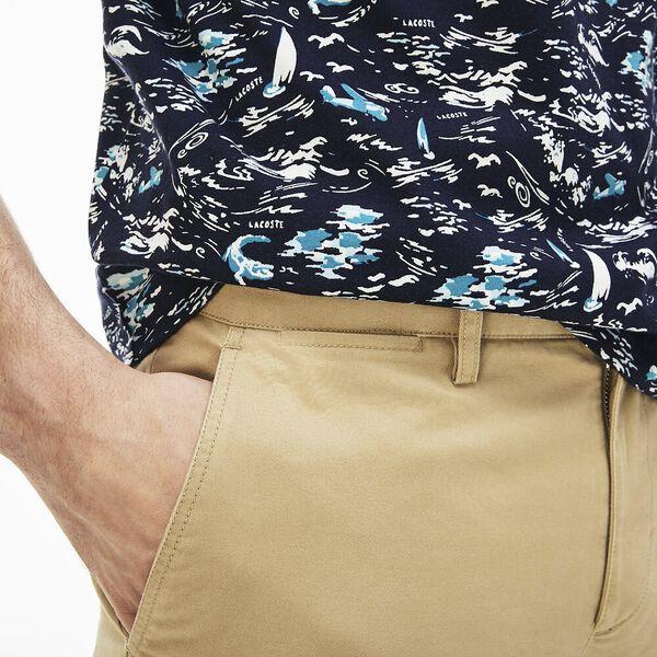 Men's Slim Stretch Chino, VIENNESE, hi-res