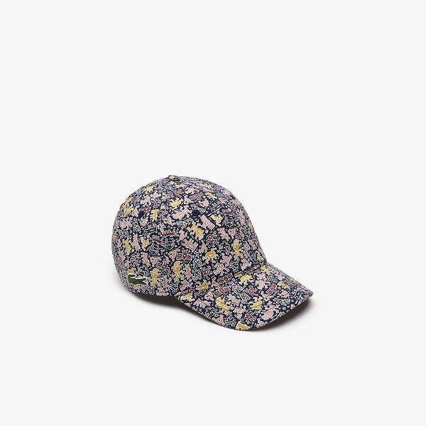 MEN'S KEITH HARING ALLOVER PRINT CAP
