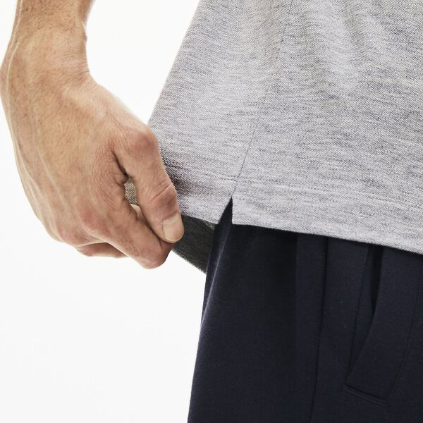 Men's Paris Stretch Polo, SILVER CHINE, hi-res
