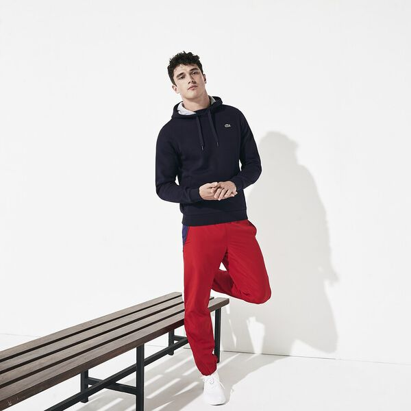 Men's Lacoste Sport Hooded Pullover