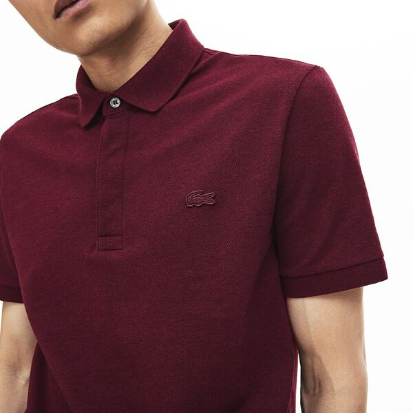 Men's Paris Stretch Polo, VINE CHINE, hi-res