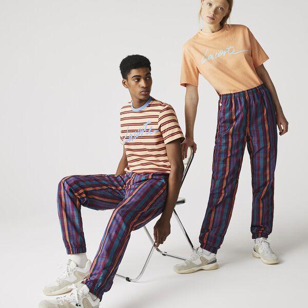 Unisex LIVE Check Tracksuit Pants