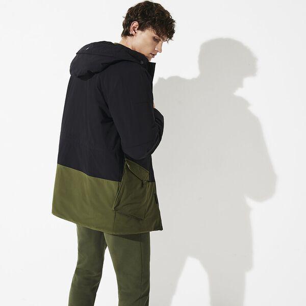 Men's Lifestyle Plain Weave Parka, PARKA/BUSH, hi-res