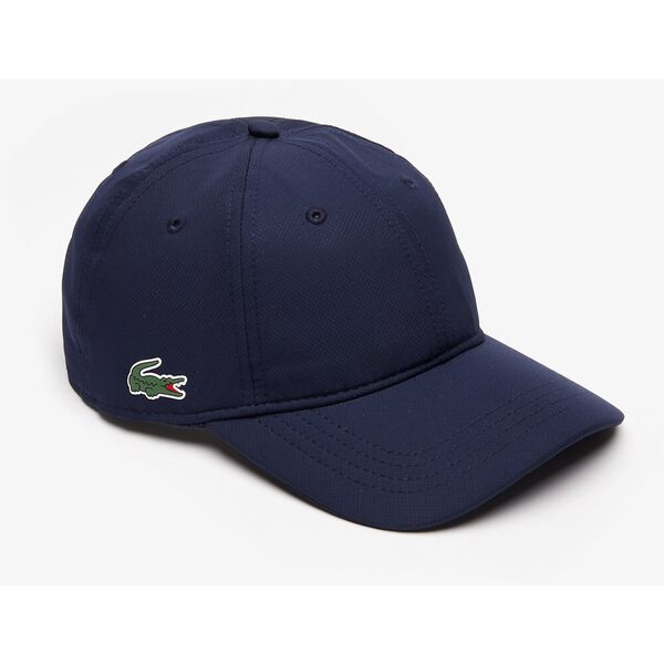 MEN'S BASIC DRY FIT CAP, NAVY BLUE, hi-res