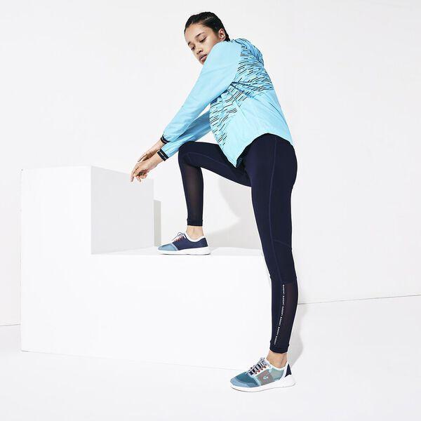 Women's SPORT Paneled Breathable Stretch Tennis Leggings