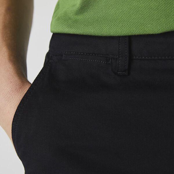 Men's Slim Stretch Chino, BLACK, hi-res