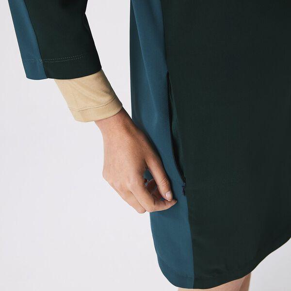 Women's Crew Neck Flowy Dress, SINOPLE/ACONIT, hi-res