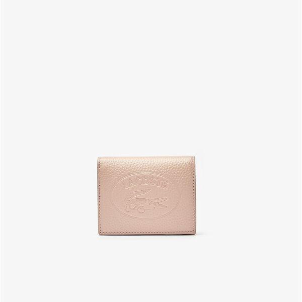 Women's Croco Crew Grained Leather Snap Wallet