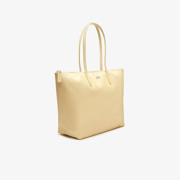 Women's L.12.12 Concept Zip Tote Bag, FLAN, hi-res
