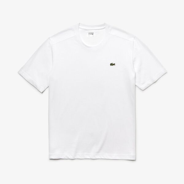 Men's Basic Crew Neck Sport Tee, WHITE, hi-res